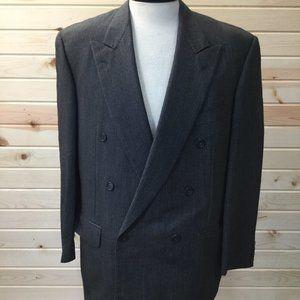 Ermenegildo Zegna Wool Blazer Jacket 46L